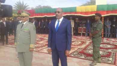 صورة الجنرال محمد ولد مكت يقدم معلومات مفصلة عن حصيلة عمل الشرطة خلال العام المنصرم