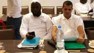صورة عبد الله ولد اجيد المترشح لنائب افريقيا يتعهد بالعمل على تشريع آلية قانونية لحل مشاكل الموريتانيين في القارة السمراء