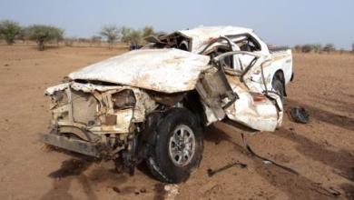 صورة وفاة 7 اشخاص وجرح 10 آخرين في حادث سير مروع