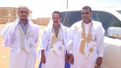 صورة رجال أعمال وأطر أدويرارة يشاركون بفعالية في استقبال ولد الغزواني في لعصابة والحوض الغربي