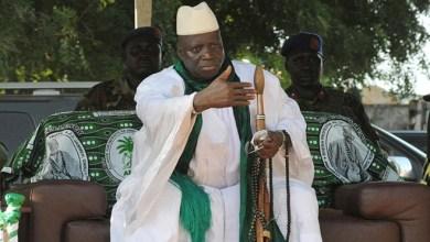صورة وزير العدل الغامبي : الرئيس السابق يحي جامي  سرق 362 مليون دولار