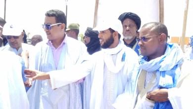صورة باركيول تنظم مسيرة من200 سيارة لإستقبال ولد الغزواني في كيفة.. ( فيديو )