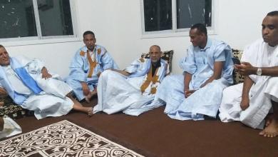 صورة الطينطان : منزل الوزير الأول محمد سالم ولد البشير يحتضن أمسية حاشدة لدعم ولد الغزواني