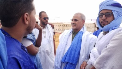 صورة شكار تخلد نهاية عشرية ولد عبد العزيز بوداع شعبي حاشد