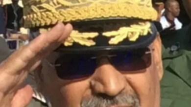 صورة تعيين الجنرال محمد ولد مكت قائدا للأركان العامةللجيوش