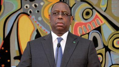 صورة الإشتباه في إصابة الرئيس السينغالي بفيروس كورونا