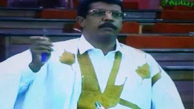 صورة إحالة النائب السابق المصطفى ولد أحمد مكي إلى وكيل الجمهورية
