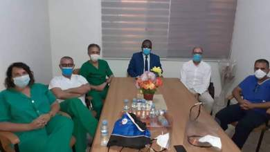 صورة طبيب إسباني : موريتانيا وصلت مرحلة ذروة تفشي كورونا خلال الأسبوعين الماضيين