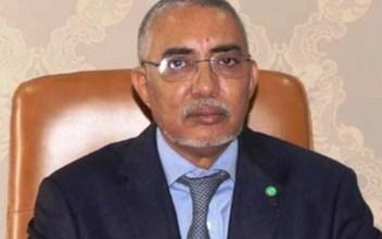 صورة يحي ولد حدمين رجل سجل إسمه في تاريخ موريتانيا الحديث ..