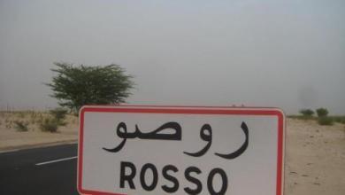 صورة شرطة روصو تلقي القبض على متهم بالقتل في نواكشوط 2016