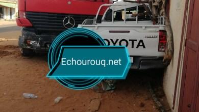 صورة لعصابة : حادث سير مروع في حي سكطار بمدينة كيفة