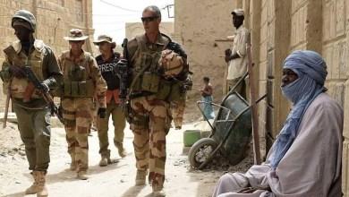 صورة مقتل ثلاثة جنود فرنسيين  في مالي