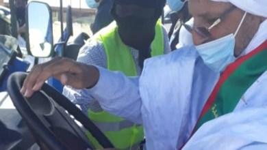 صورة بلدية شكار تطلق حملة تحسيسية لمكافحة كورونا.. (صور)