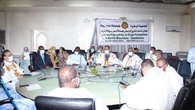 صورة نائب مقاطعة مكطع لحجار يقود فريقا برلمانيا لتعزيز الصداقة الموريتانية الغامبية