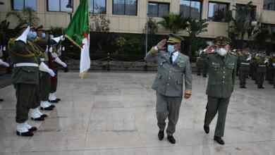 صورة موريتانيا : الجيش ينشر تقريرا عن زيارة قائد الأركان العامة للجيوش للجزائر