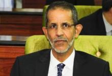 صورة اسماعيل ولد أبده ولد الشيخ سيديا رئيسا لحزب الإتحاد من أجل الجمهورية