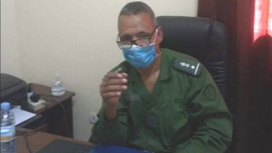 صورة أمبود : الدرك يوقف مواطنا أجنبيا في مكاتب الحالة المدنية كان يحاول التسجيل بوثائق مزورة في بلدية تارنكه
