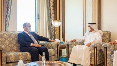 صورة استئناف العلاقات الدبلوماسية بين موريتانيا وقطر