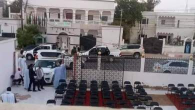 صورة السماح للرئيس السابق ولد عبد العزيز بعقد مؤتمره الصحفي