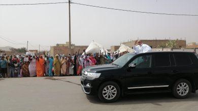صورة النعمة : إستقبالات شعبية حاشد للرئيس غزواني.. (صور حصرية )