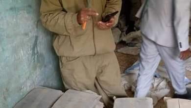 صورة الشرطة الموريتانية تصادر أكثر من 20 خنشة من المخدرات من مخزن قرب (أكلينك)