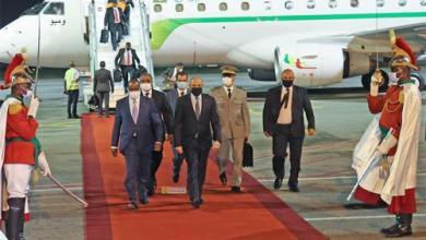 صورة الرئيس غزواني  يصل آبدجان