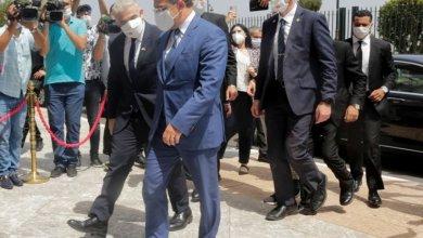 صورة وزير خارجية إسرائيل يزور المغرب
