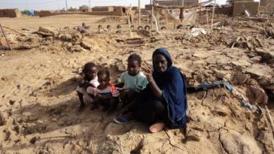"""صورة أمبود : تضرر 80 أسرة في قرية """"أودي الغربان"""""""