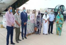 صورة الجزائر تُهدي موريتانيا 42 طنا من المواد الغذائية