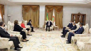 صورة مستشار الأمن القومي الآمريكي يشيد بالرئيس غزواني