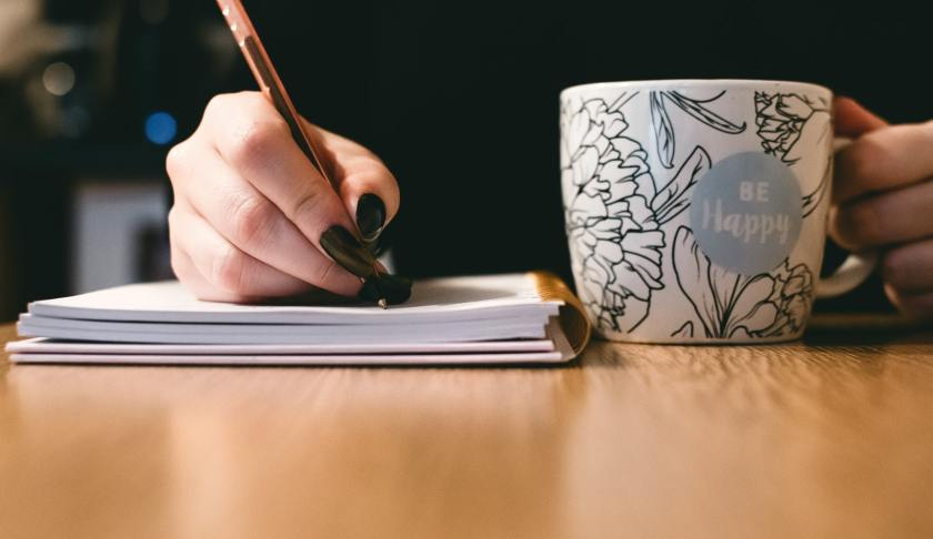 How to Stay Calm with writing