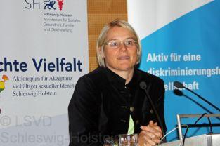 Ministerin Kristin Alheit