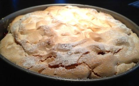 IMG_4169 Himbeer-Rhabarber-Baiser-Torte