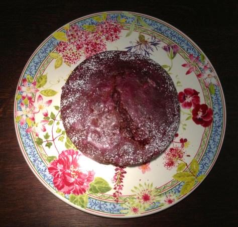 EchtesEssen Rotweinkuchen mit Kirschen aus der Springform IMG_5379