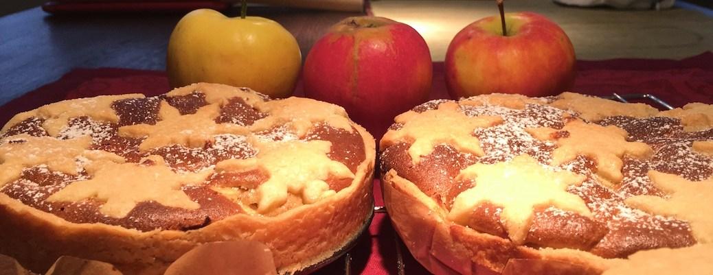 Adventskuchen-Apfel-Muerbeteig-mit-Marzipan-und-Mandeln-Quittentarte-IMG_3096