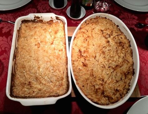 Klausenburger Kraut mit Polenta und Reis aus Siebenbuergen