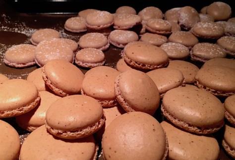 Macaron feines Rezept mit Schokolade IMG_3281