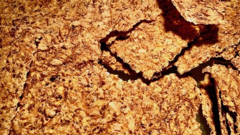 Knackiges Knaecke Brot mit Kuerbiskernen Leinsamen Haferflocken Mandeln -IMG5154