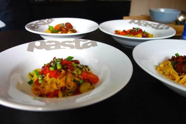 gezond pasta recept