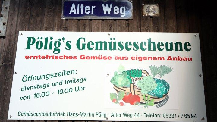 Pölig´s Gemüsescheune, Alter Weg 44