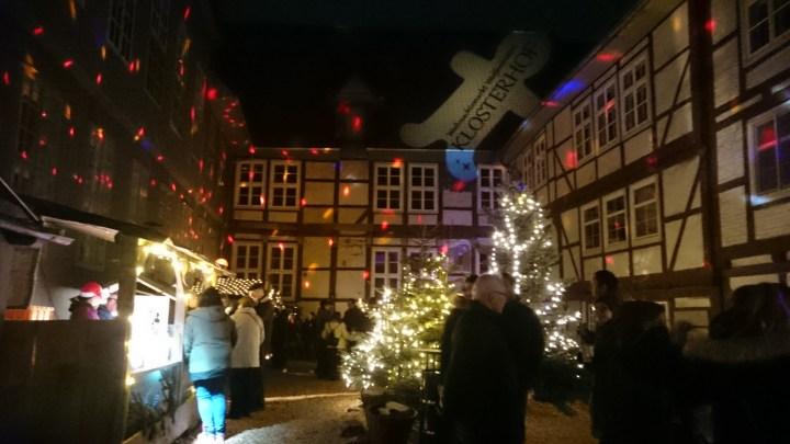Klosterhof Weihnachtsmarkt Wolfenbüttel © Elisabeth Fischer, Stadt Wolfenbüttel