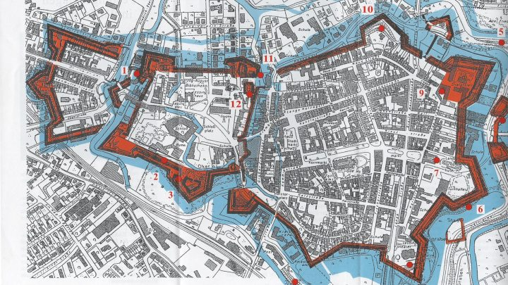 Plan der Wallanlagen