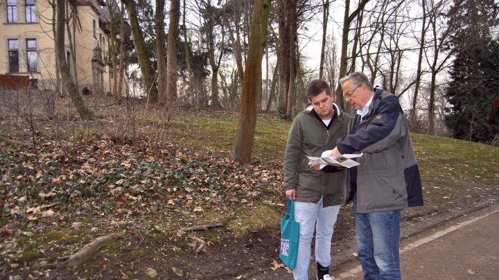 Meine Begleiter: Torben und Dieter