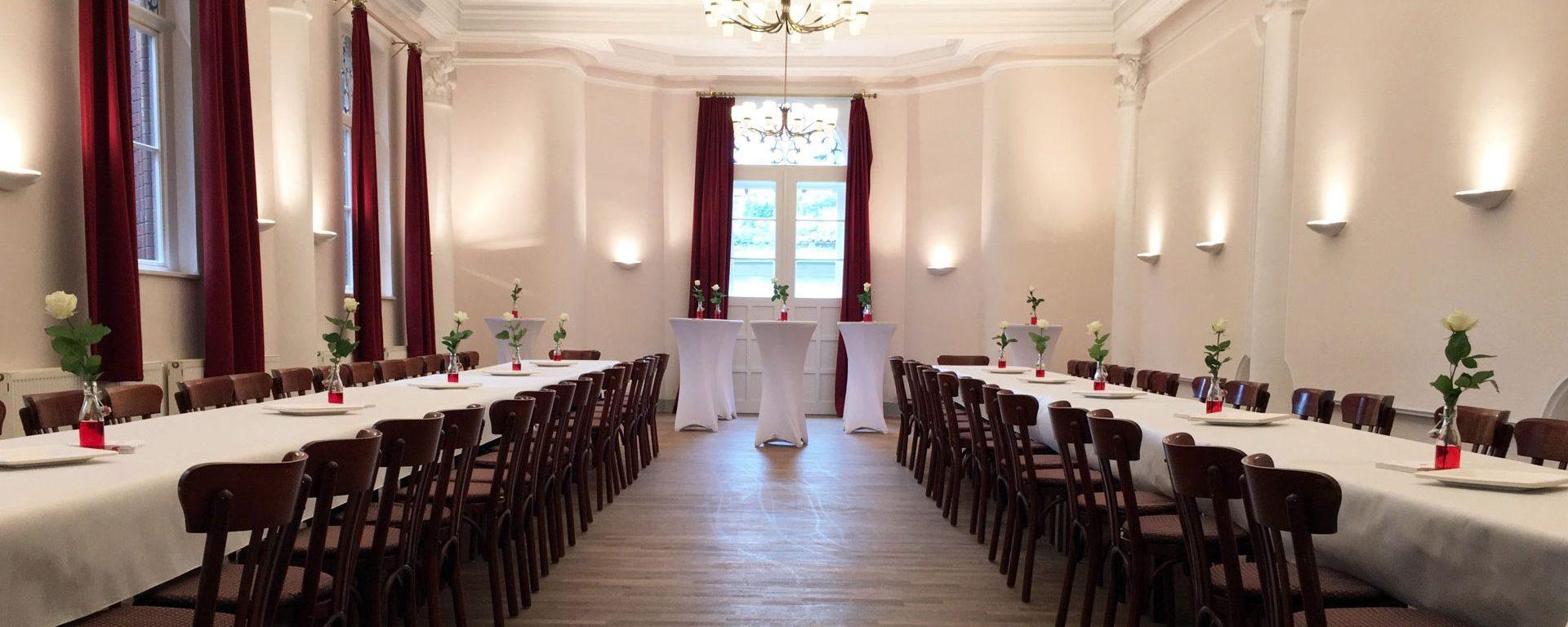 Ein schöner Saal ohne Gastronomiebindung für Eure Feier