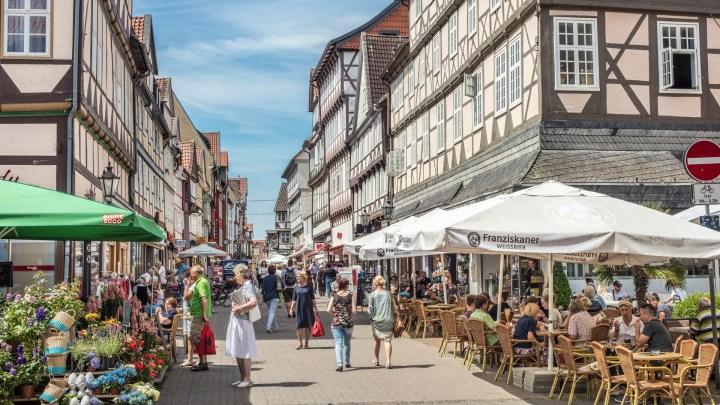 Fußgängerzone Wolfenbüttel