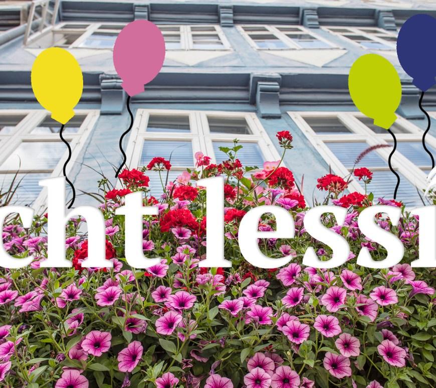 Unser echt lessig Blog feiert zweijähriges Jubiläum