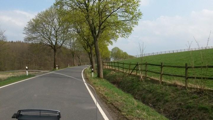 Die Strecke zwischen Neuenkirchen und Schladen