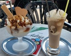 Leckeres Eis im Eiscafé Adria in Schladen