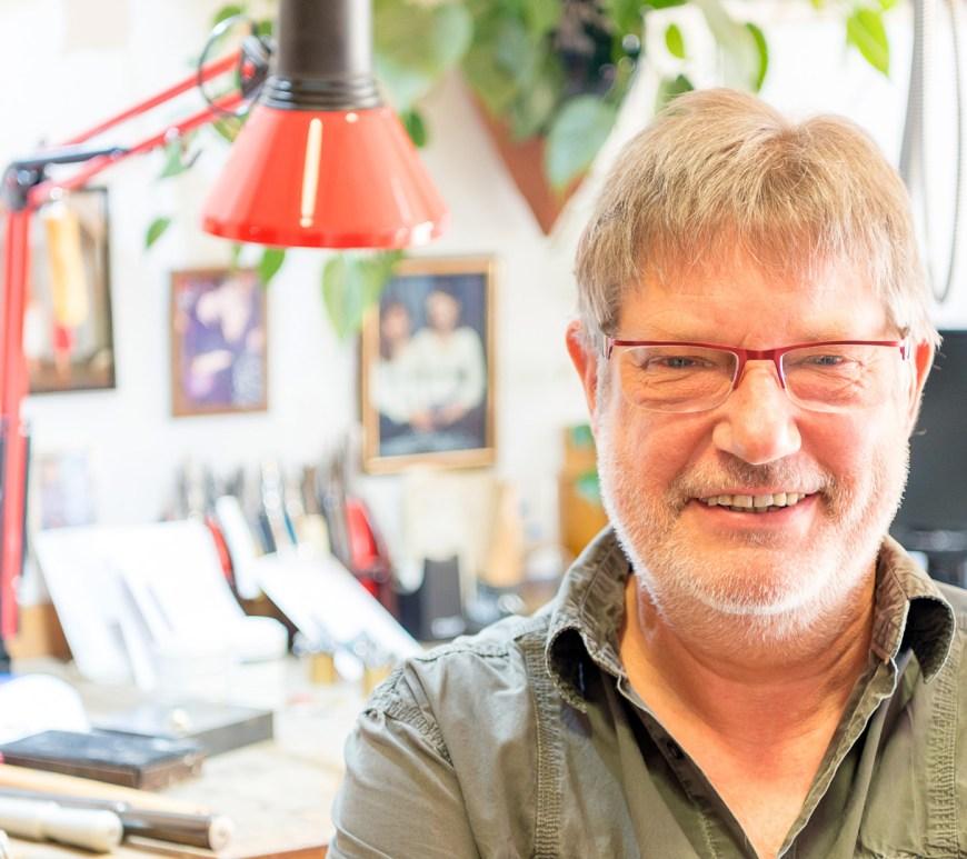 Glenn Klemm von der Goldschmiede Glenn Klemm.