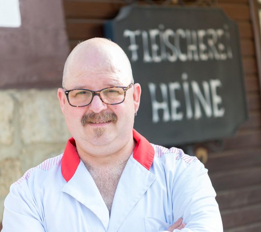 Frank Heine von der Fleischerei Heine.
